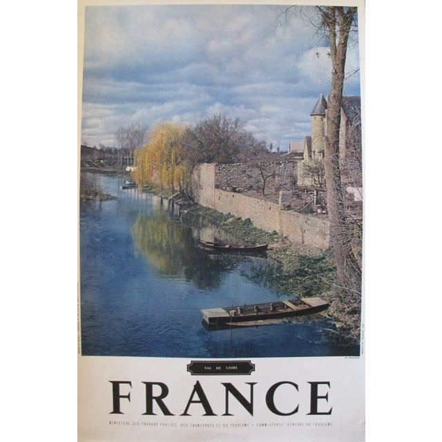 1950s French Travel Poster, Val de Loire For Sale