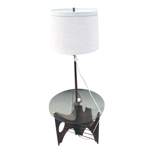 Harry Balmer Brutalist Torch-Cut Table Lamp - Image 1 of 4