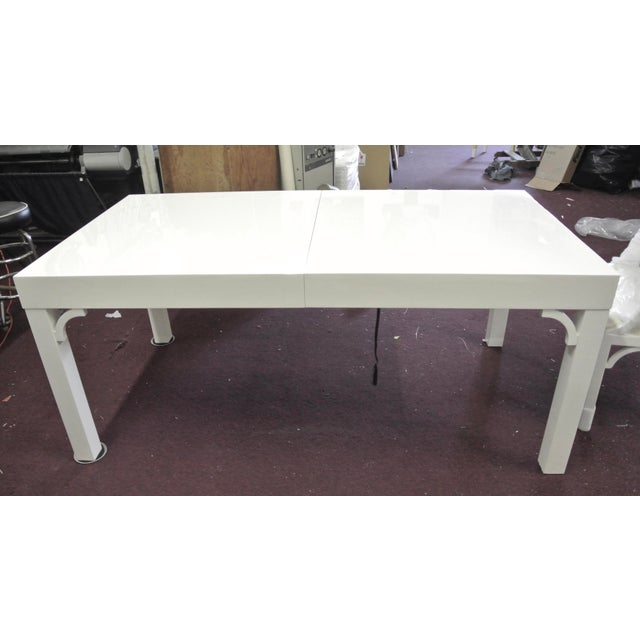 Boulevard Parsons Table by Lilly Pulitzer For Sale - Image 13 of 13