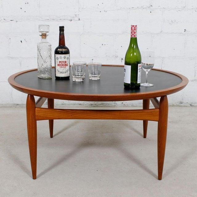 Danish Modern Teak Finn Juhl Style Reversible Coffee Table - Image 10 of 10