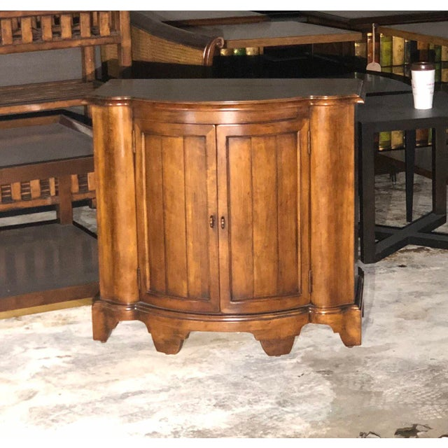 Century Furniture French Country Century Furniture Somerset Commode Cabinet For Sale - Image 4 of 4