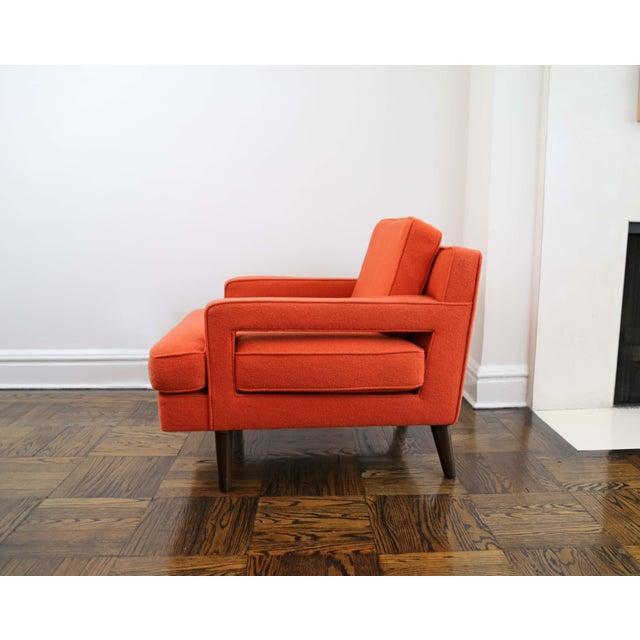 Dunbar Furniture Mid-Century Modern Edward Wormley for Dunbar Club Chairs - a Pair For Sale - Image 4 of 8