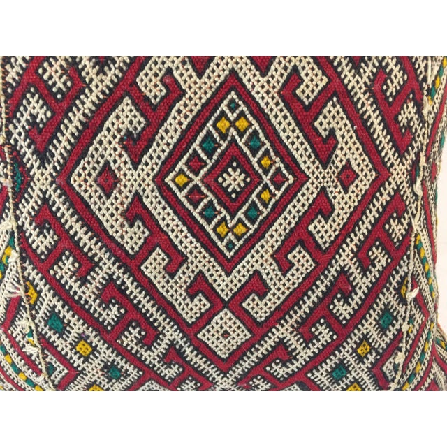 African Moroccan Berber Tribal Throw Pillow For Sale - Image 3 of 5