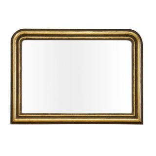 Large Louis Phillippe Mantle Mirror For Sale