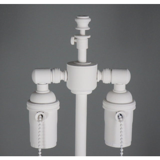Paint Plaster Jmf Lamp For Sale - Image 7 of 10