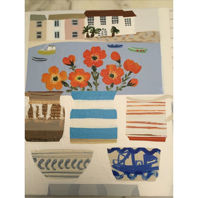 British Artist Williams St Ives Painting - Image 3 of 4