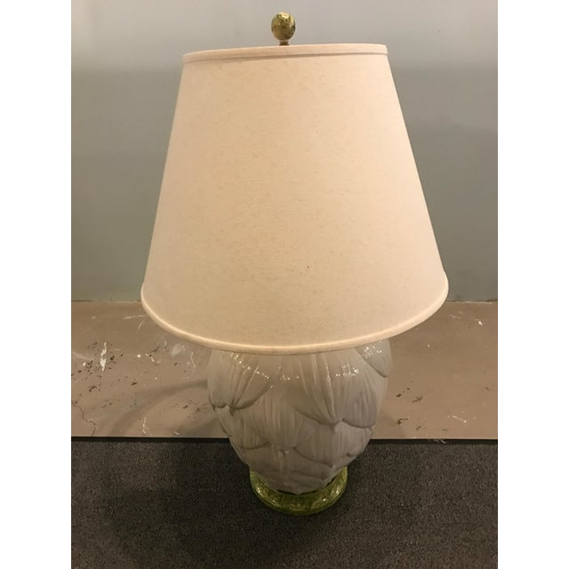 1960's Ceramic Artichoke Lamp - Image 11 of 11