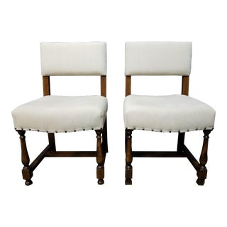 Bobby McAlpine Side Chairs - A Pair