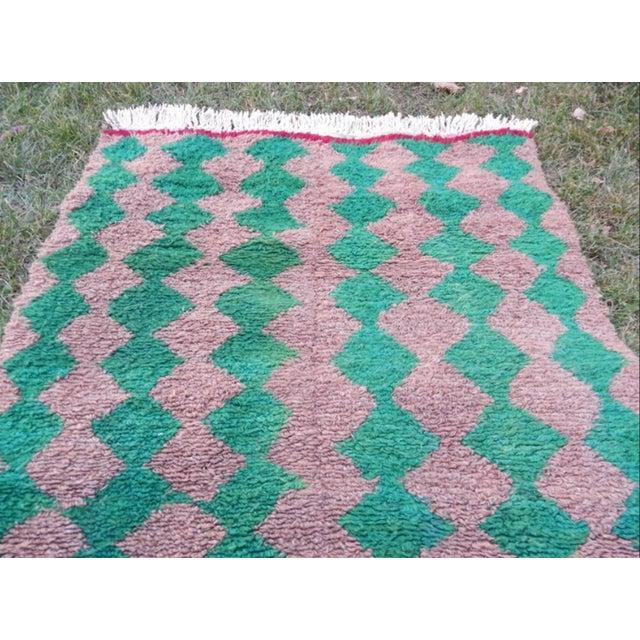 Modern Turkish Angora Tulu Rug For Sale - Image 9 of 12