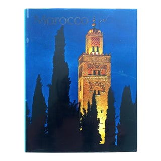 """"""" Morocco """" Rare Vintage 1967 Mid Century 1st Edtn Collector's Travel Cultural Photography Hardcover Book For Sale"""