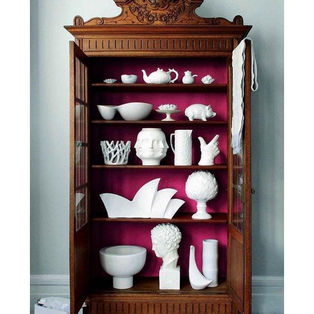 2000 - 2009 White Porcelain Artichoke Sculpture For Sale - Image 5 of 6
