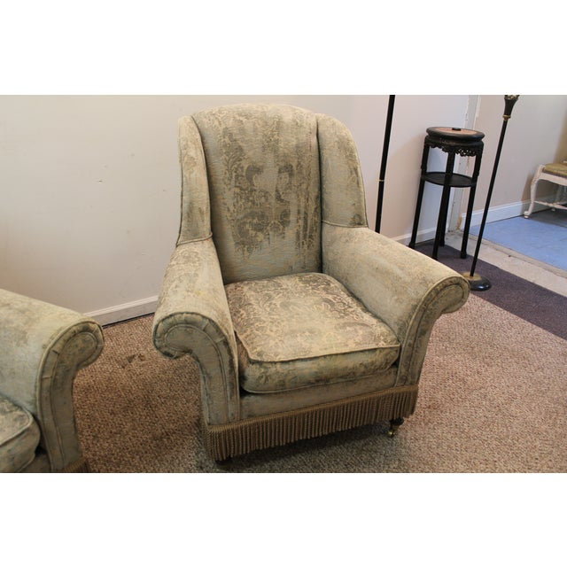 Drexel Heritage Lillian August Club Chairs - Pair For Sale - Image 7 of 11