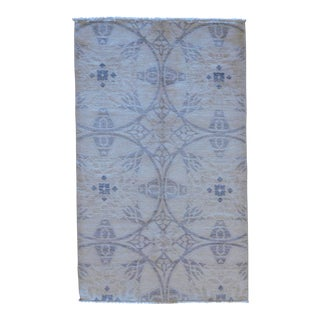 "Handmade Contemporary Wool Rug - 3'3"" X 5'1"" For Sale"