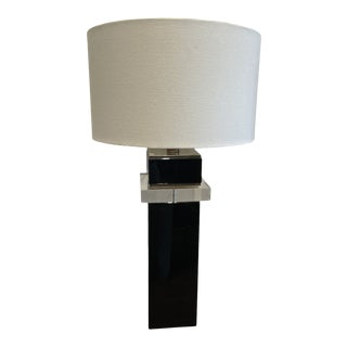 1970s Lucite Table Lamp For Sale