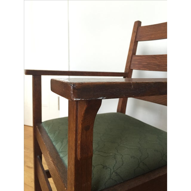 Gustav Stickley Antique Side Chair - Image 4 of 7
