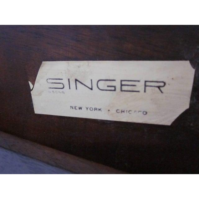Bertha Schaefer Bertha Schaefer Nesting Tables by Singer and Sons - set of 4 For Sale - Image 4 of 7