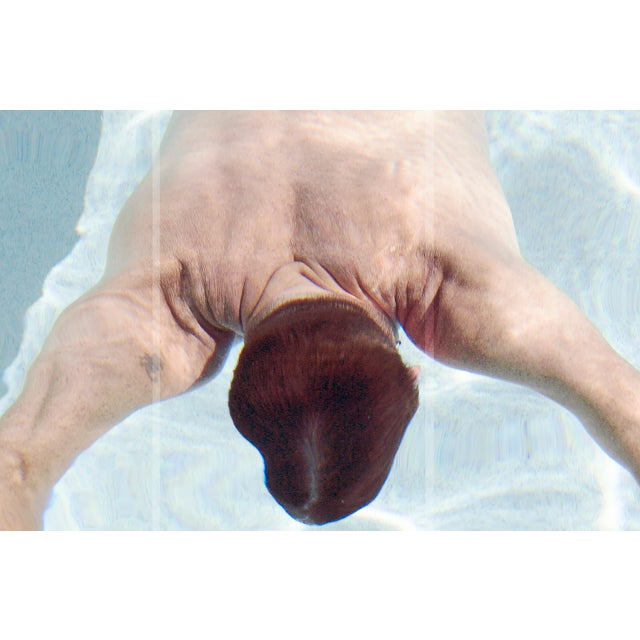 "Contemporary Patricia P. Abreu ""The Swimmer"" Contemporary Photographic Print For Sale - Image 3 of 3"