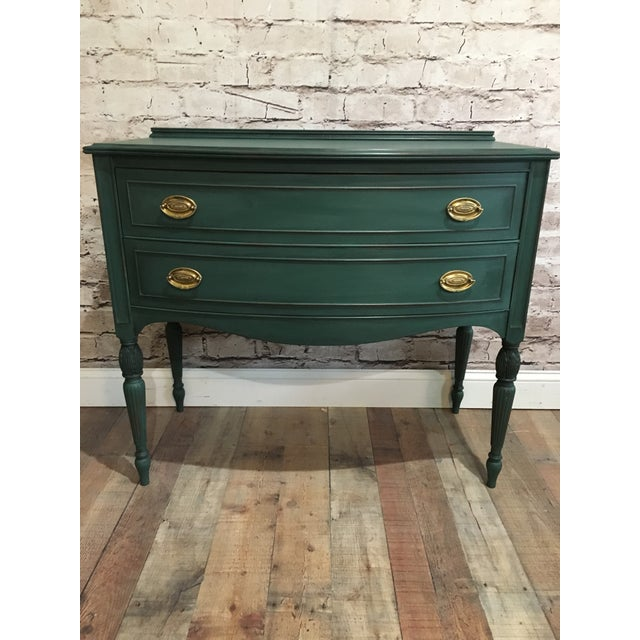 Green Buffet Server For Sale In Baltimore - Image 6 of 6