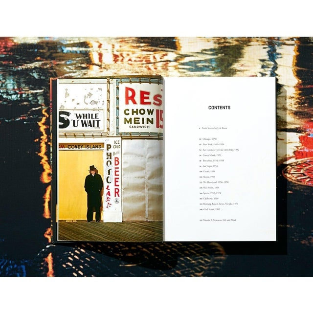 """TASCHEN Books, """"Marvin E. Newman"""" Photography Collection, Limited Edition, Signed For Sale In Los Angeles - Image 6 of 8"""
