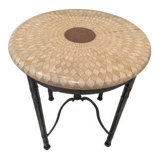 Maitland Smith Tessellated Accent Table For Sale
