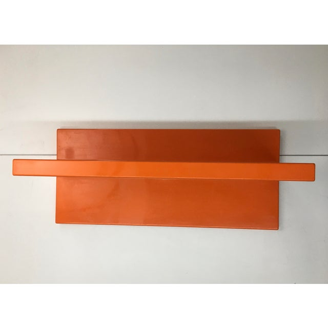 Kartell 1970s Vintage Wall-Mounted Plastic Shelves by Marcello Siard for Kartell - a Pair For Sale - Image 4 of 13
