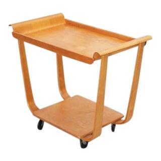 Cees Braakman Tea Cart for Pastoe in Birch Plywood For Sale