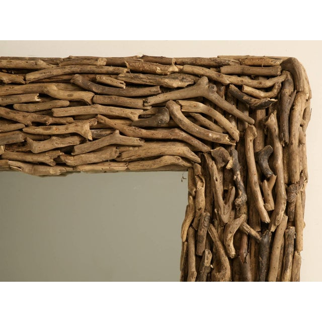 Driftwood Mirror Imported From England For Sale - Image 10 of 10