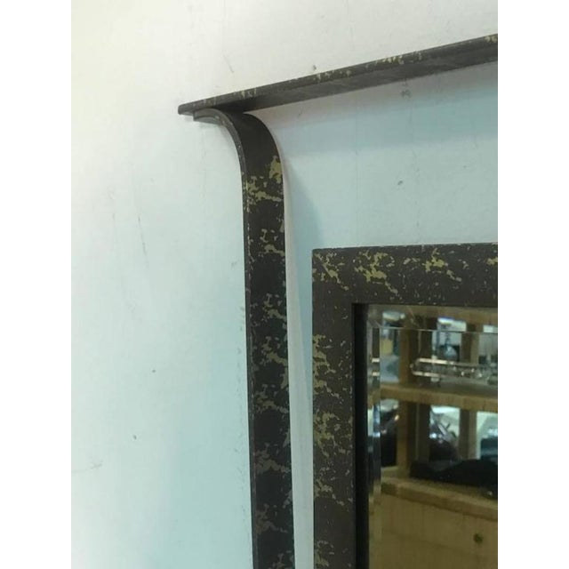 Mid-Century Modern Gorgeous Carvers Guild Wall Mirror in the Manner of Jean Royere For Sale - Image 3 of 9