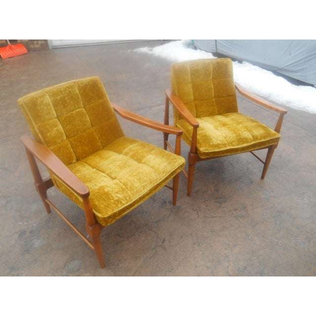 Vintage Mid-Century Danish Modern Lounge Chairs- a Pair For Sale - Image 10 of 10