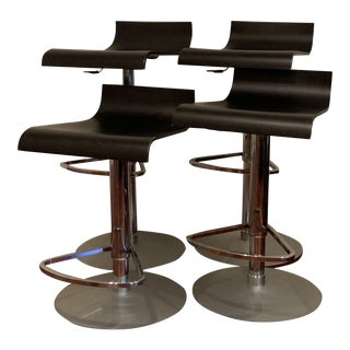 """Pam"" Adjustable Bar Stools From Ligne Roset - Set of 4 For Sale"