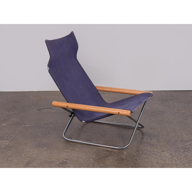 NY Folding Sling Chair by Takeshi Nii For Sale - Image 10 of 10