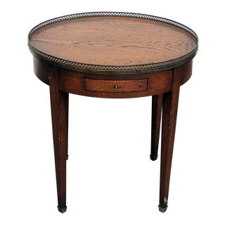 Antique Louis XIV Style Bouillotte Table For Sale