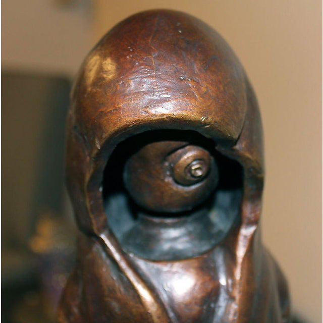 "Bronze by Newburgh Artist Ivan Palmer Titled ""3 Am"" For Sale In Palm Springs - Image 6 of 9"