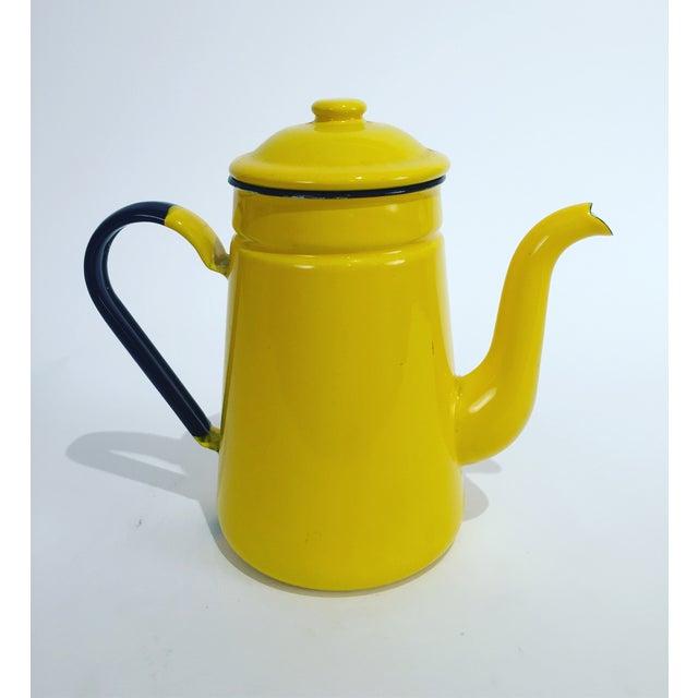Vintage Yellow Tea Pot - Image 2 of 7