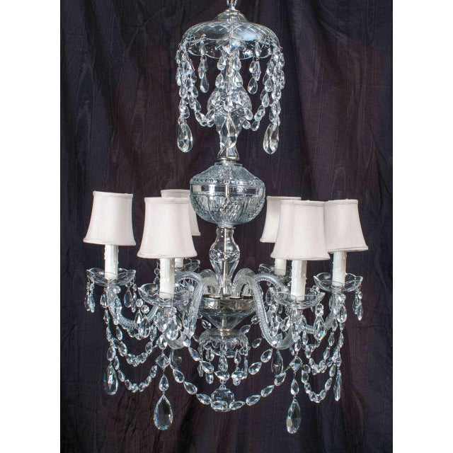 In 1992 Paul Bavis, our chandelier maven, designed and made this fixture. The very elegant Southern lady it was originally...