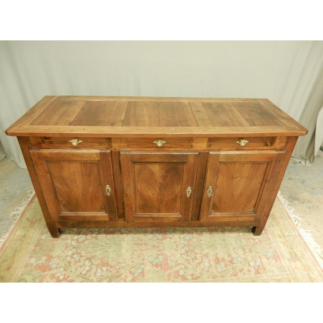 Early 19th French Walnut Enfilade For Sale - Image 11 of 11
