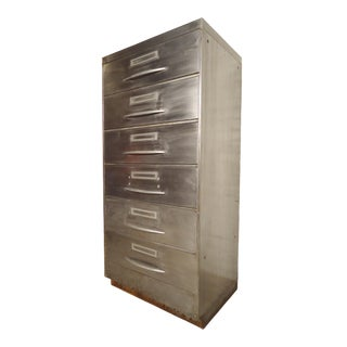 Unique File Cabinet With Industrial Finish For Sale