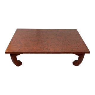 Baker Furniture Michael S Smith Sargent Cocktail Table For Sale