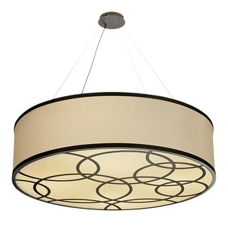 Mid-Century Modern Custom Laser Ceiling Light For Sale