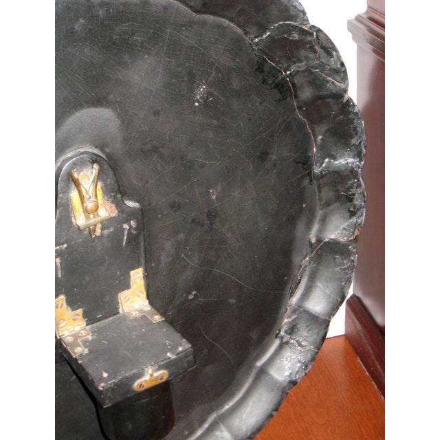 Paper 19th Century Victorian Paper Mache Tilt Top Round Table For Sale - Image 7 of 10