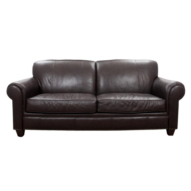 Strange Modern Broyhill Contemporary Leather Sofa Pabps2019 Chair Design Images Pabps2019Com