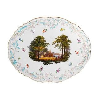 19th Century Meissen Porcelain Plaque For Sale