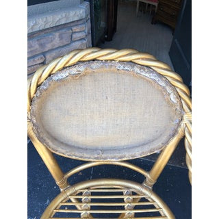 1980's Vintage McGuire Twisted Rattan Chairs- Pair Preview