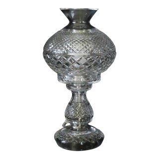 Waterford Cut Crystal Inishmore Table Lamp For Sale