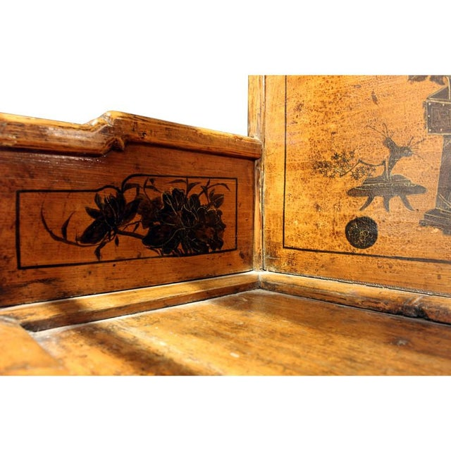 Origin: China Material: Wood Year: Early 20th C. Province of China: Shandong Type of wood: Poplar (w) 24″ x (d) 18″ x (h)...