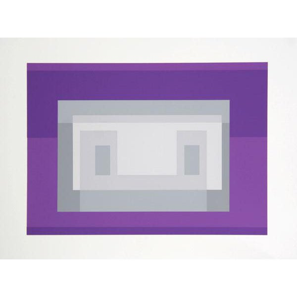 "Josef Albers ""Portfolio 2, Folder 18, Image 1"" Print For Sale"