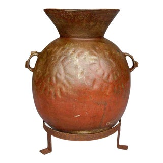 Antique Ceramic Water Storage Pot For Sale