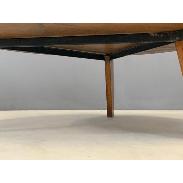 Jean Prouvé 1950s Jean Prouvè Mid Century Coffee Table Series Africa For Sale - Image 4 of 9