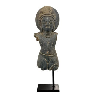 Gupta Empire Torso of Vishnu Sculpture For Sale