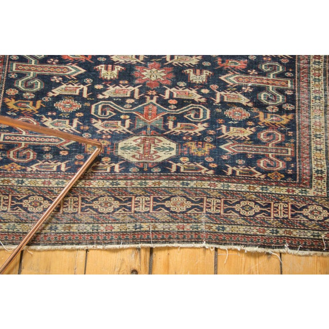 """Antique Shirvan Rug - 4'3"""" x 6'7"""" For Sale - Image 5 of 11"""